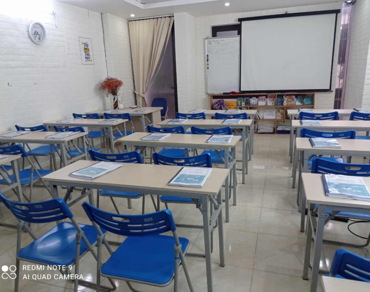 Lớp học tại Han Exim